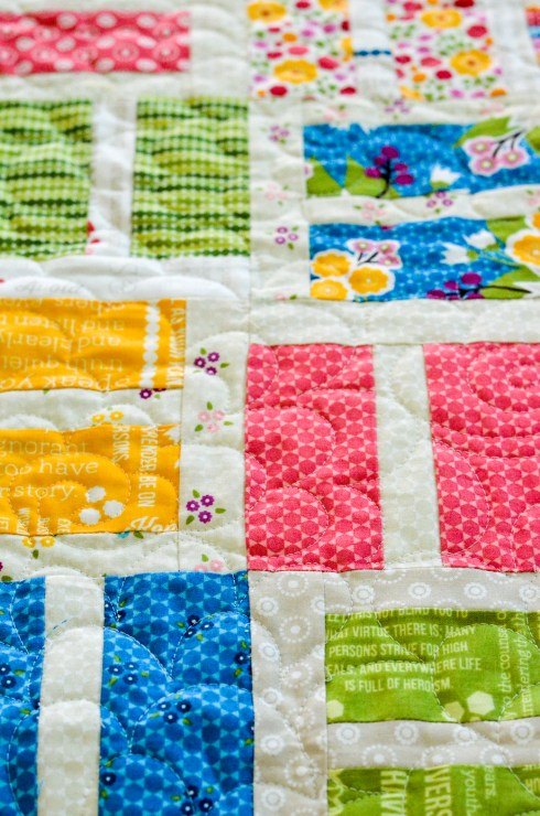 Building Blocks quilt pattern by April Rosenthal for Prairie Grass Patterns