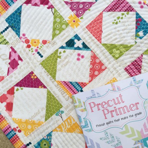 Second Grade Quilt by April Rosenthal from the book Precut Primer by Barb and Mary of Me and My Sister Designs www.aprilrosenthal.com