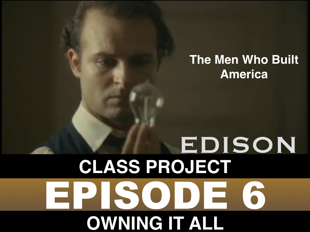 Project The Men Who Built America