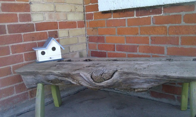 Front Porch at the Farm | April Tells All