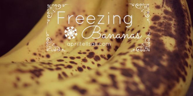 Freezing Bananas