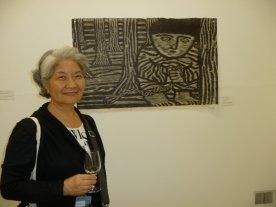 A woodblock artist from the Nagasawa program made this print.
