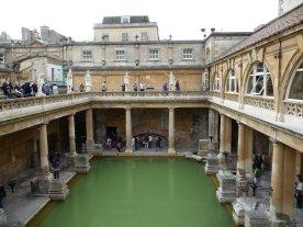 The restored Roman Bath