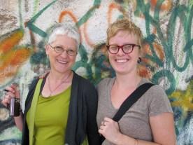 Karen and her former student Lauren