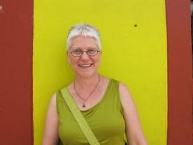 Karen in green