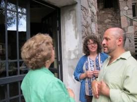 Carole, Renee and Hugo