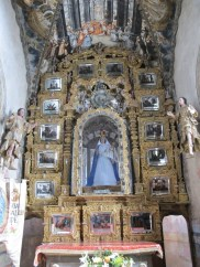 Our Lady with mirrors