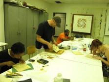 mokuhanga woodcut class