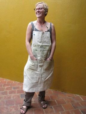 Lauren in her Guanajuato apron