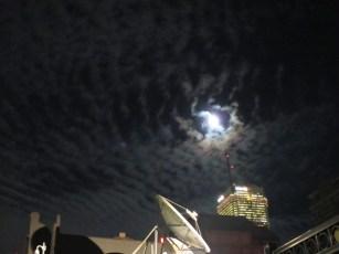 beautiful moon in Toronto!