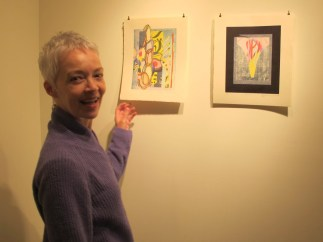 BARBARA WYBOU, Canada For 20 years I lived in Japan, where I studied Japanese Woodblock Printing at the studio of the traditional woodblock artist Toshi Yoshida. I discovered the Japanese technique of woodblock printing when I moved there in 1984. I was thrilled, as it allows me to do what I love most - to make prints at home, working small, in great detail, with the fine texture of wood grain and the building up of layer upon layer of translucent watercolour pigment.