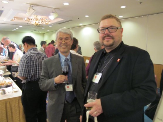 many of Noda's former students, such as Michael Schneider (Austria) came to the conference
