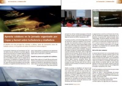 Radar Contact- Verano. Artículo sobre gestión de la cizalladura en Tenerife Sur