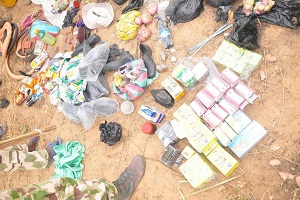 Troops Arrest B'Haram Team Carrying Viagra