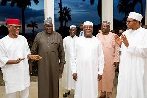 Buhari Breaks Ramadan Fast With APC Leaders