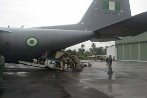 troops fighter jets