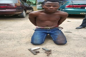 Police Nab Wanted Armed Robber In Lagos