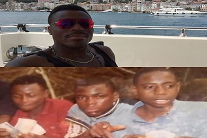 Emenike Shares Throwback Picture