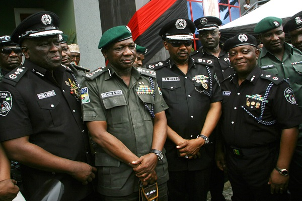 Police IG Honours Slain Officers in Zenith Bank Robbery