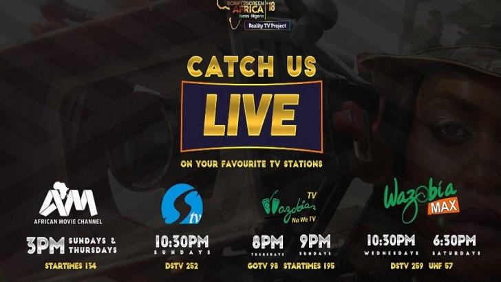 Script2Screen Africa TV Reality Show Kicks Off