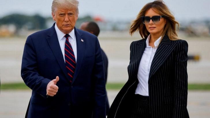 President Donald Trump Tests Positive For Coronavirus