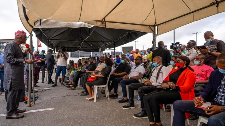 Circle Mall Looting: Sanwo-Olu Promises Financial Support For Business Owners