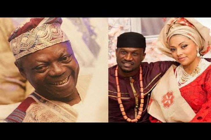 Peter Okoye and Wife mourns