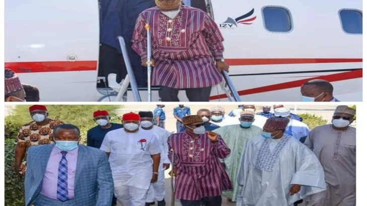 Eze Clarifies Issues About Amaechi Working And Walking With Crutches