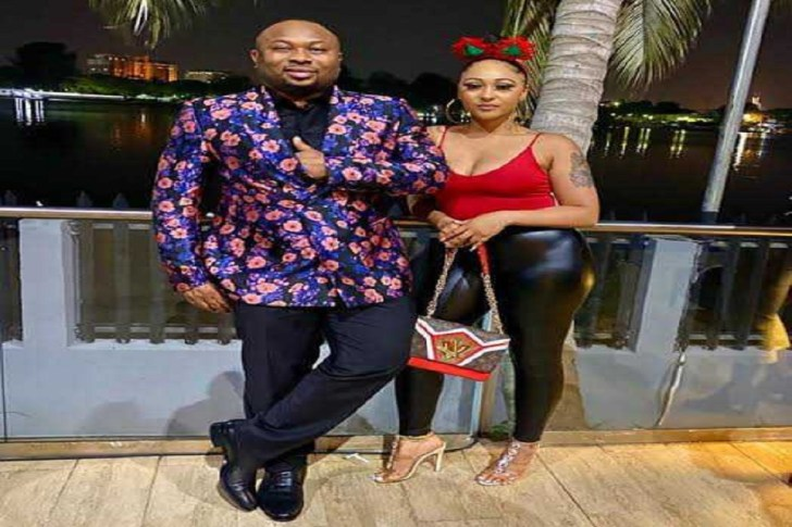 Olakunle Churchill and Rosy Meurer