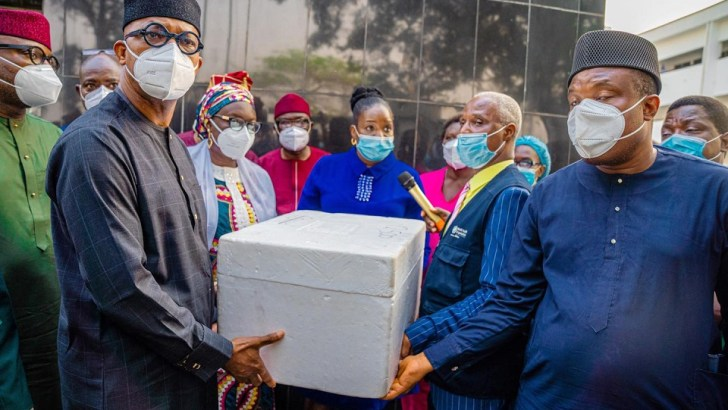 Ogun takes delivery of 100,000 COVID-19 vaccine doses