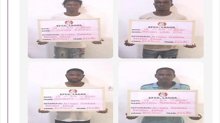 EFCC Arrests 27 Suspected Internet Fraudsters in Ayobo-Ipaja Area of Lagos
