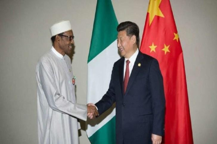 Nigeria and China presidents