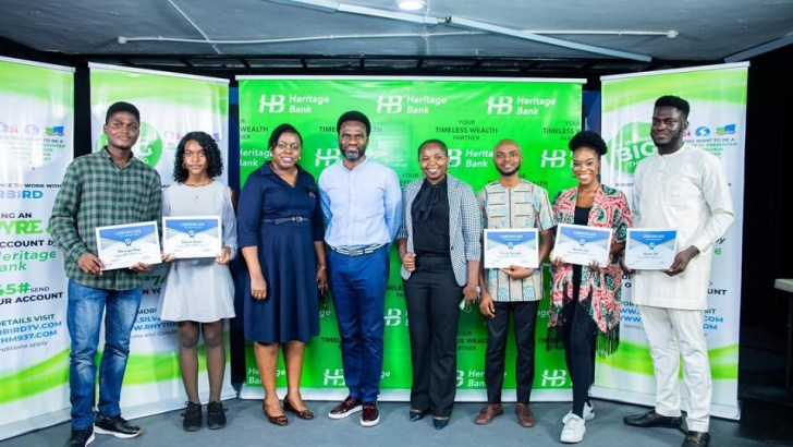 Heritage Bank Partners Silverbird to Empower Young Creative Nigerians