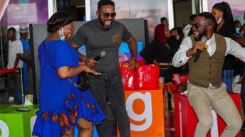Bigi/Silverbird Cinema Partnership: Nollywood Celebrities Thrills Crowd With Tickets Giveaways