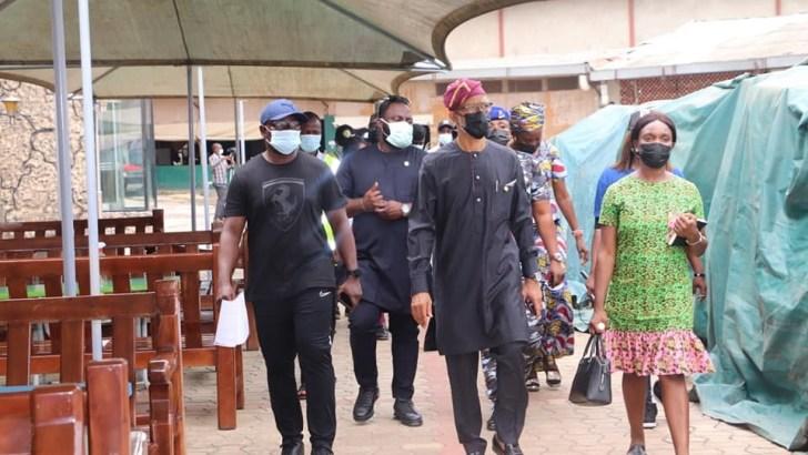 COVID-19: Lagos Inspects Facilities At SCOAN Ahead Of Prophet TB Joshua's Burial