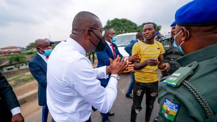 Sanwo-Olu Arrests Gang of Traffic Robbers In Ojota