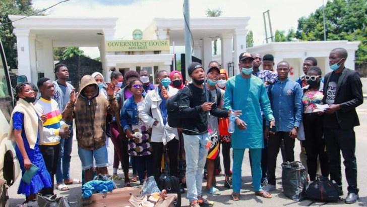 Jos Crisis: Fayemi Evacuates 28 Stranded Ekiti Students