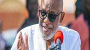 Akeredolu Warns Against Branding Terrorism as Banditry