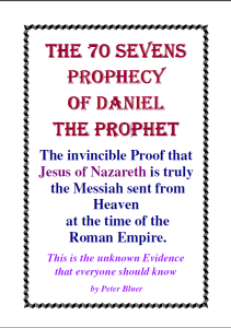 THE 70 SEVENS PROPHECY OF DANIEL THE PROPHET