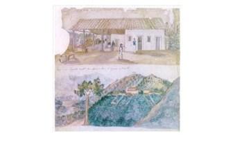 Água Preta e Vista da capela de Aparecida