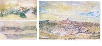Vista de Guaratinguetá / Vista da ponte velha de Itu / Vista da ponte velha de Itu