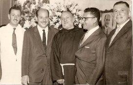 Miguel Bisogni, João Guidotti, Frei Estêvão, Renato Guerra de Andrade, Lélio Ferrari