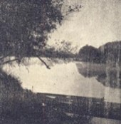 O amanhecer do rio Tietê