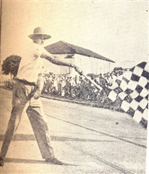 A chegada do campeão: Arnaldo Ricciardi.