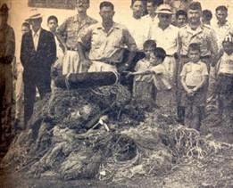 Os pescadores clandestinos eram teimosos. Mas a fiscalização também, apreendendo material aos montes. Destino: fogueira