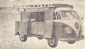 Outro lançamento que estava prestes a ser efetuado naquele ano foi o CARRO-BAR, mais uma adaptação da camioneta Kombi- Volkswagen.