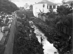 Antes do período desenvolvimentista, quando é construída a Av. Armando de Salles Oliveira, o riacho Itapeva corria a céu aberto