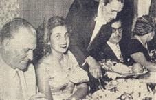(à esq.) O casal dr. Dovílio (Ada) Ometto