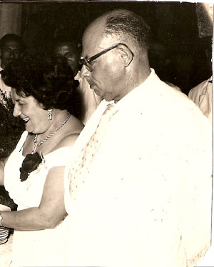 casal Eloá-Louis Clement, lideranças da antiga Sucrérie Brésilliénne, do Engenho Central