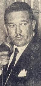 Ermor Zambello, presidente do Cristóvão quando oferecia a pujante festa